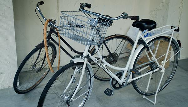 所有している自転車